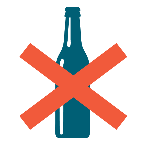 Alcohol banned during lockdown