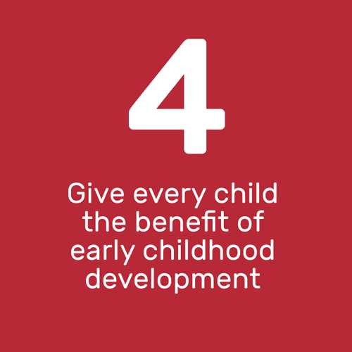 Give every child the benefit of early childhood development