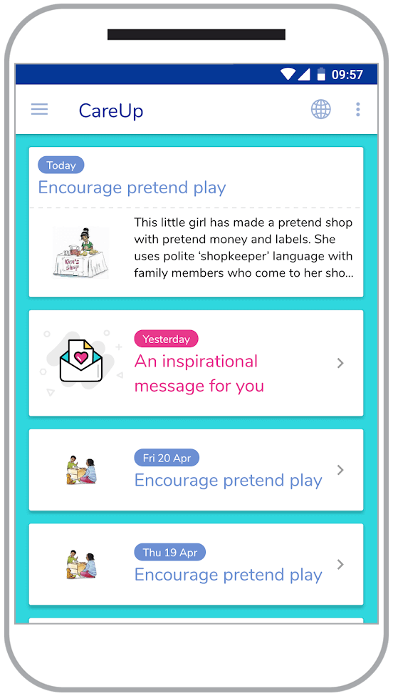 CareUp Mobile Education App