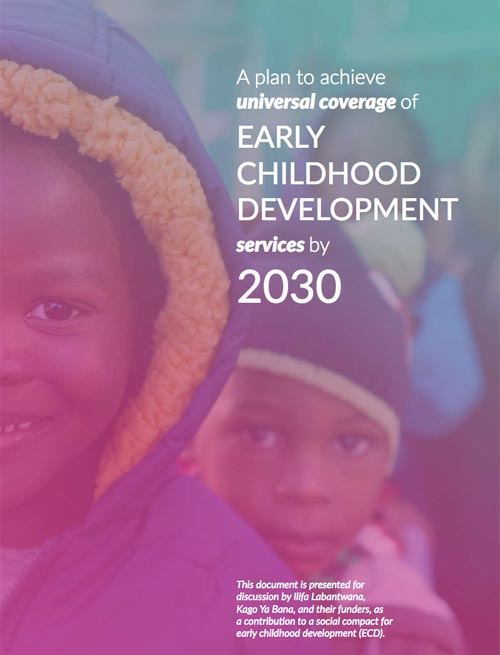 A plan to achieve universal coverage for Early Childhood Development services by 2030