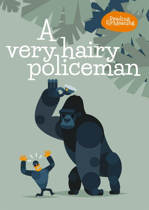 The Very hairy policeman