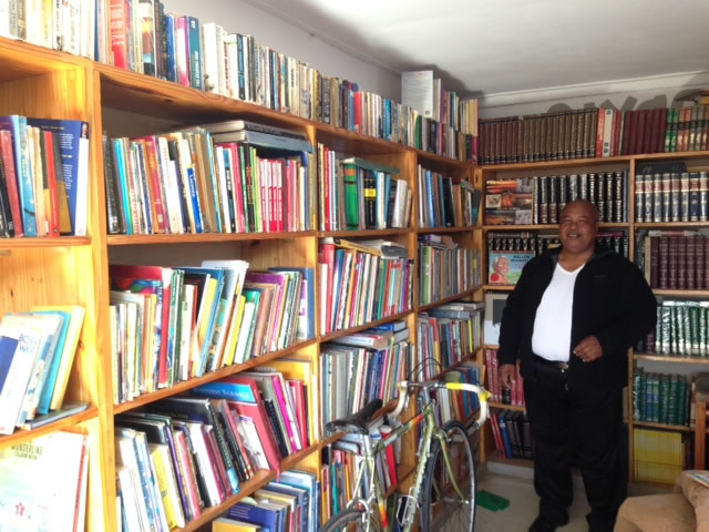John in the backyard library