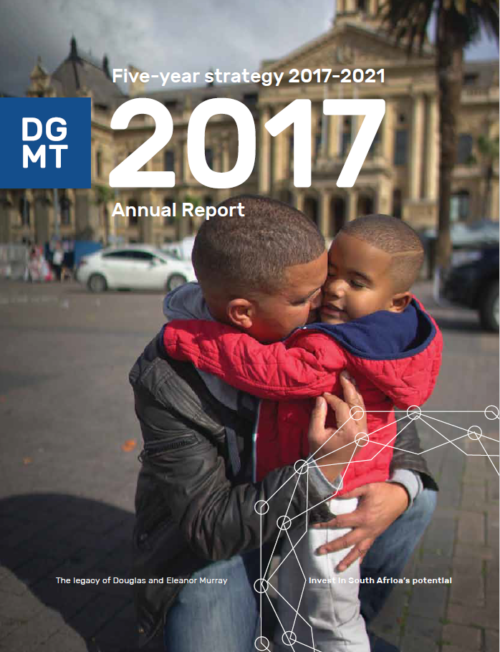 An article from DGMT's Annual Report, 2017